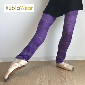 【Rubia Wear】バレエダンサーがデザインした 超ロングレッグウォーマー  Unicorn(ユ...