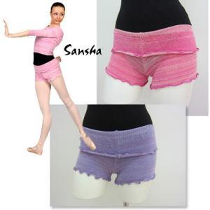 バレエ ショートパンツ サンシャ ニットショートパンツ 2色展開|mignonballet