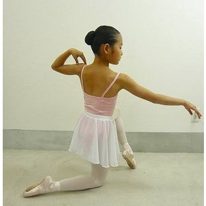 バレエ 子供用 巻きスカート風ウエストゴム・プルオンスカート |mignonballet|05