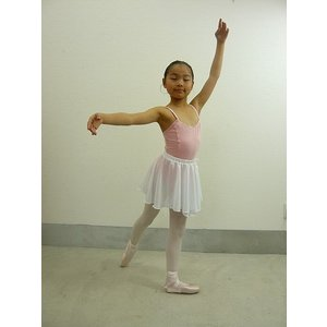 バレエ 子供用 巻きスカート風ウエストゴム・プルオンスカート |mignonballet|06