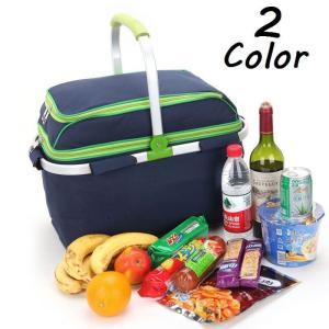 シンプルな色の保冷保温バスケットです☆ 上部の収納スペースには、グラスやお皿なども収納できます♪  ...
