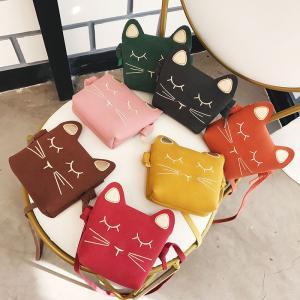 バッグ ショルダーバッグ ポシェット かばん 子供用 ネコ 猫 小さめ 小さい コンパクトサイズ 可愛い 軽量 mignonlindo