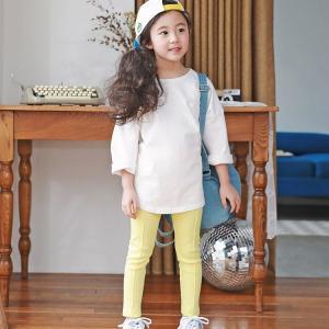 パステルカラーの可愛いレギンスです☆ いろんな服に合わせやすく 伸縮性もあるので動きやすいです★  ...