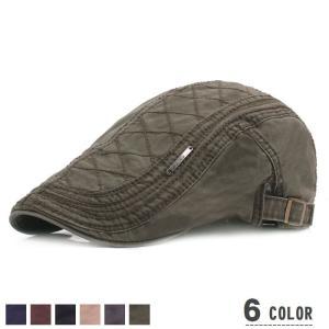 メンズ 帽子 ハンチング帽 メタルプレート サイズ調整可能 秋冬 男性 女性 男女兼用 レディース アースカラー おしゃれ かっこいい ブラック ネイ|mignonlindo