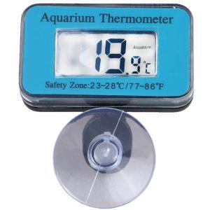 水中に設置できる防水設計の水温計です。  測定範囲:-50度から70度まで 適合電池:LR44 電源...
