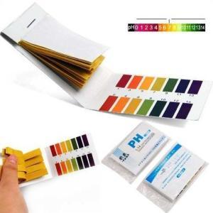 ブックタイプのpH試験紙です。 試験紙を試験液に漬けると、試験紙の色が変わります。 変わった色を標準...