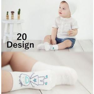 子供用 赤ちゃん用 靴下 ソックス ショートソックス アニマルデザイン コットン 女の子 男の子 下着 くつ下 ベビー キッズ|mignonlindo