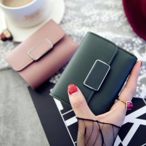 財布 レディース 三つ折り 女の子 かわいい カード入れ おしゃれ 折りたたみ カード 可愛い コンパクト 中学生 高校生 学生 プレゼント|mignonlindo