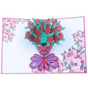 グリーティングカード メッセージカード 誕生日 バースデー 記念日 お祝い カード 立体 飛び出す ...