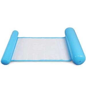フロート ハンモック風 浮き具 夏 プール 海 海水浴 水遊び 浮き輪ベッド ウォーターハンモック 浮き袋 アウトドアレジャー おもちゃ エアベッド|mignonlindo