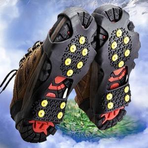靴底用滑り止め スパイク 滑り止め 靴底 アウトドア クライミング 登山 山道 山 雪 氷 雪道スパ...
