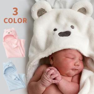 ベビー用 バスタオル おくるみ バスローブ フード付き 耳付きフード お風呂グッズ バスグッズ 赤ちゃん 新生児 男の子 男児 女の子 女児 キッズ|mignonlindo