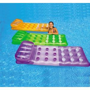 INTEX フロート ビッグサイズ 浮き具 ボート ソファ ベッド 浮き輪 ビーチフロート 浮輪 うきわ ウキワ 夏 プール 海水浴 水遊び 川遊び|mignonlindo