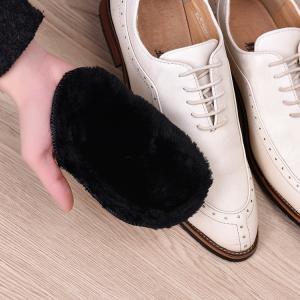 靴磨きクロス 靴磨きグローブ ムートン調 グローブクロス クロスシューズワイプ ポリッシュグローブ ソフトシューズブラシ 柔らかい やわらかい ポリッ|mignonlindo