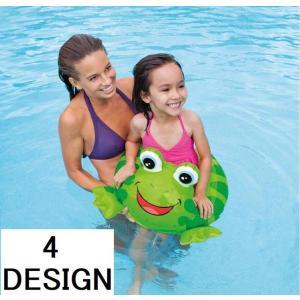 INTEX 浮き輪 子供用 幼児用 キッズフロート 浮き具 うきわ ウキワ 浮輪 動物 アニマルデザイン プール 海 水遊び 海水浴 水中歩行|mignonlindo
