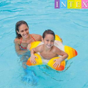 INTEX 子供用浮き輪 うきわ 浮輪 ウキワ 星型 スター ヒトデ型 浮き具 浮具 ビーチ プール 海水浴 川遊び 夏 水遊び リゾート スイミング|mignonlindo