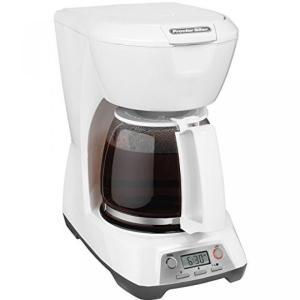 12 Cup Digital Coffee Maker (White)