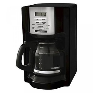 12-Cup Programmable Coffeemaker, Black