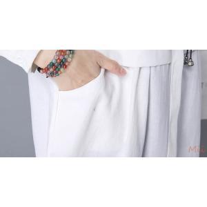 チェックシャツ チェック柄 チュニック M-2XL トップス ギンガムチェック 襟付き フロントボタン レディース ホワイト|miistore