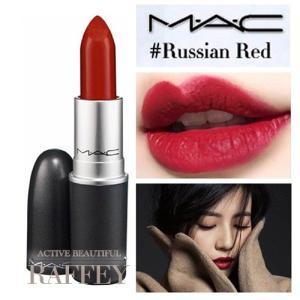 MAC RUSSIAN RED 612 ロシアンレッド M.A.C マック リップスティック マット...