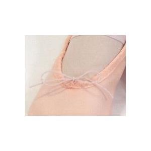 【現品限りセール】つま先レザー◆キャンバスバレエシューズ(ピンク)☆|mijong|06