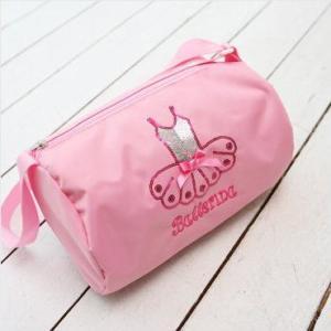 レッスンバッグ【スパンコールチュチュ】ピンク|mijong