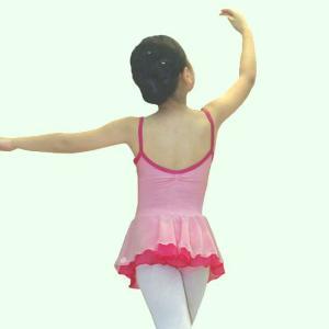 【現品限りSALE】[CBL042]ツートンカラーレオタード【キャミ】ピンク mijong 02