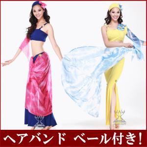 3点セットアップ ベリーダンス 衣装 パンツとチョリとヘッドアクセ ダンス衣装 社交ダンス ミカドレス cy82|mika