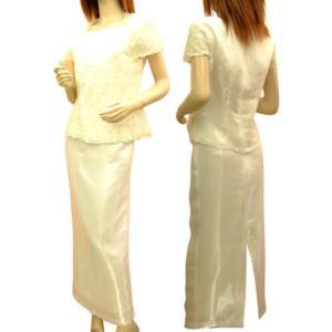 白 パーティードレス 大きいサイズ ミセス ステージ衣装 カラオケ 演奏会用ドレス 発表会 セール ミカドレス 601-p6  mika