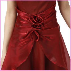 大きいサイズ ドレス XLサイズ パーティードレス ピンク aライン オリジナル コーラス ミカドレス 結婚式  ロングドレス ステージ衣装 dcy10|mika|03