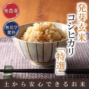 無農薬・無化学肥料栽培のお米を発芽させた発芽玄米です。 炊飯器などで白米と同じように炊けます。 好み...