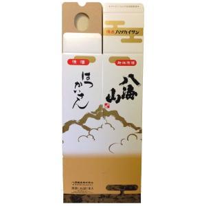 八海山 1800ml 1本用 化粧箱|mikami-saketen