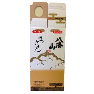 八海山 720ml 1本用 化粧箱|mikami-saketen