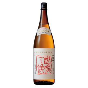 (12月上旬発売)純米吟醸 八海山 しぼりたて原酒「越後で候」 1800ml|mikami-saketen