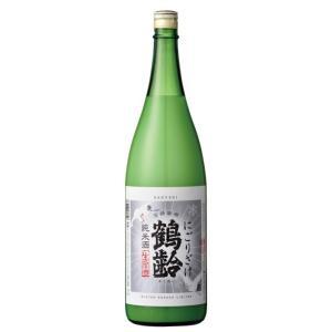 鶴齢 純米酒 にごり酒 生原酒 1800ml|mikami-saketen