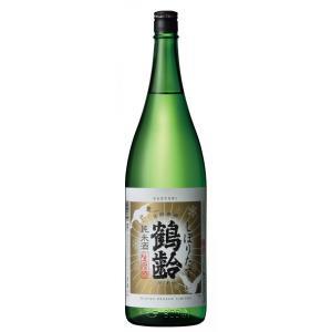 鶴齢 純米酒 しぼりたて 1800ml|mikami-saketen