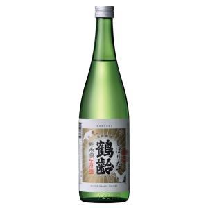 鶴齢 純米酒 しぼりたて 720ml 化粧箱付|mikami-saketen