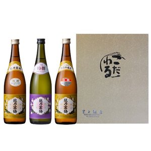 越乃寒梅飲み比べ! 特撰(吟醸)・別撰(吟醸)・白ラベルセット 720ml|mikami-saketen
