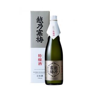 令和元年7月新発売)越乃寒梅 生もと系酒母柱焼酎仕込 特醸酒 720ml 化粧箱付|mikami-saketen