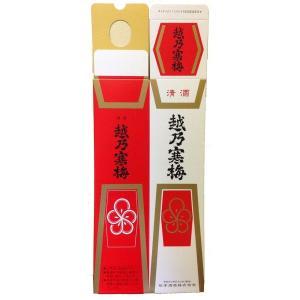 越乃寒梅 1800ml 1本用 化粧箱|mikami-saketen