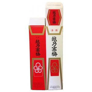 越乃寒梅 720ml 1本用 化粧箱|mikami-saketen