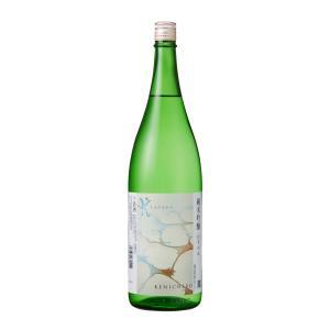純米吟醸 K -KENICHIRO- 白ラベル 1800ml mikami-saketen