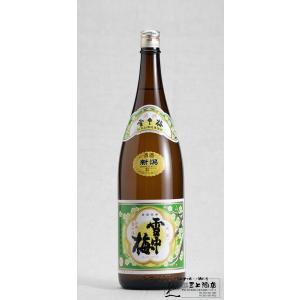 雪中梅 清酒 1800ml|mikami-saketen