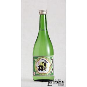 雪中梅 清酒 720ml|mikami-saketen