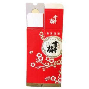 雪中梅 720ml 1本用 化粧箱|mikami-saketen