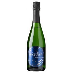 Sweet fish sparkling sake ネイビーラベル 720ml|mikami-saketen
