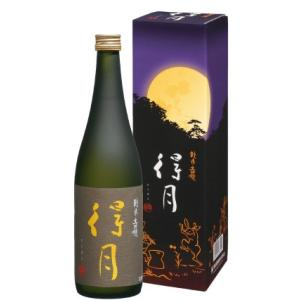 正規販売店 朝日酒造から直接仕入れ 得月 純米大吟醸 720ml 化粧箱付 mikami-saketen