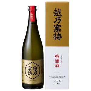 越乃寒梅 特醸酒 720ml 化粧箱付 ※2019.5月日付※|mikami-saketen