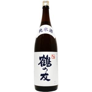 鶴の友 純米 1800ml|mikami-saketen