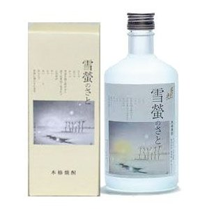 雪螢のさと 千代の光酒造 500ml 化粧箱付|mikami-saketen